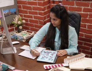 Textile Design - ishaa studio