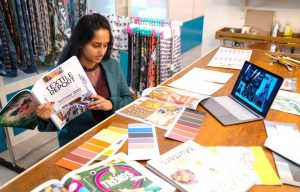 Abstract Painter and Textile Designing